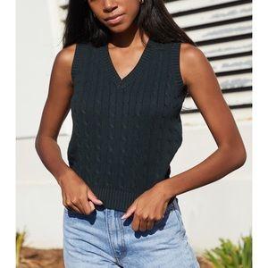 Green Sweater Vest! 💚